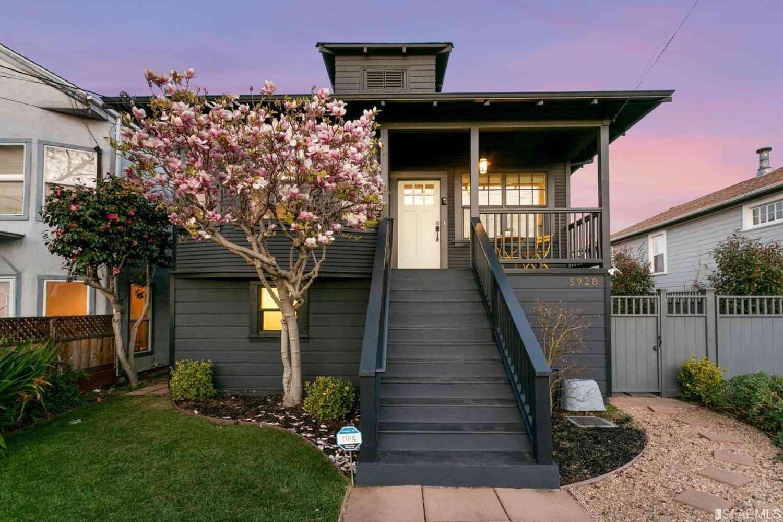 5928 Fremont Street, Oakland, CA, 94608,
