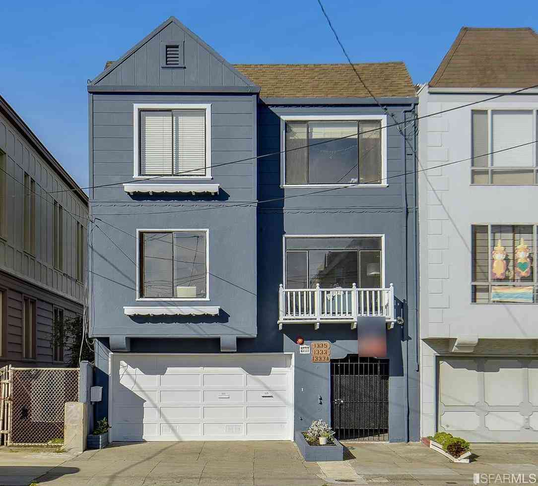 1333 42nd Avenue, San Francisco, CA, 94122,