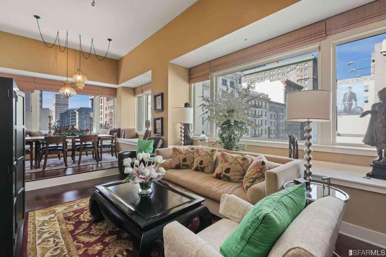 Sunny Living Room, 181 Ofarrell Street #513, San Francisco, CA, 94102,