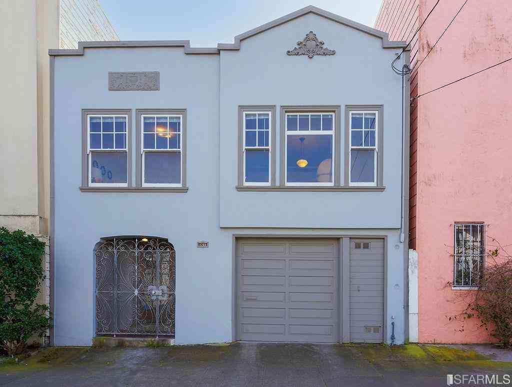 1721 Cabrillo Street, San Francisco, CA, 94121,