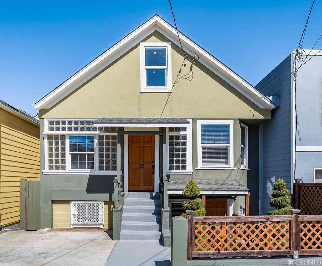 72 Bruce Avenue, San Francisco, CA, 94112,