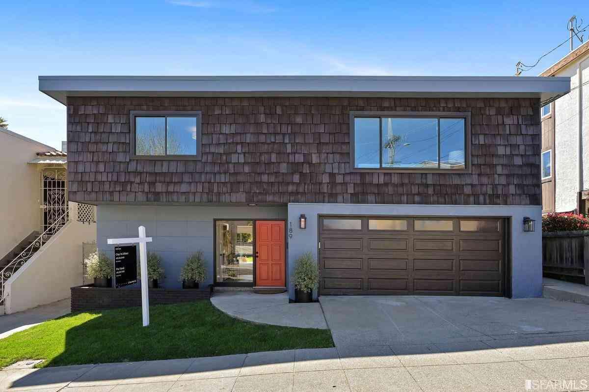 189 Linden Avenue, San Bruno, CA, 94066,