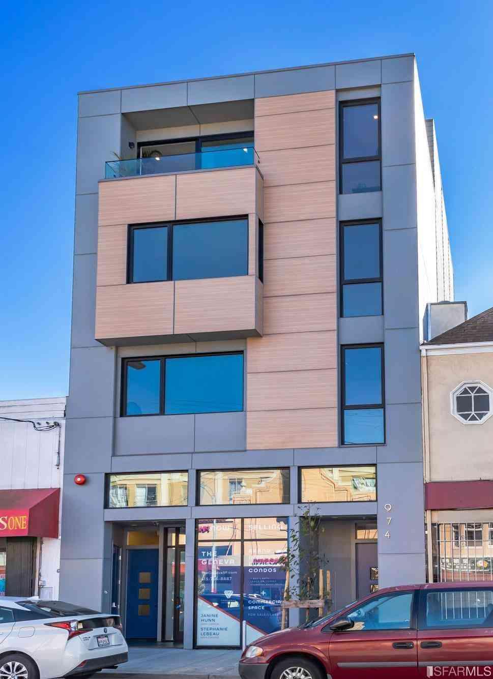 974 Geneva Avenue #A, San Francisco, CA, 94112,