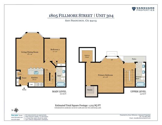 1805 Fillmore Street #304