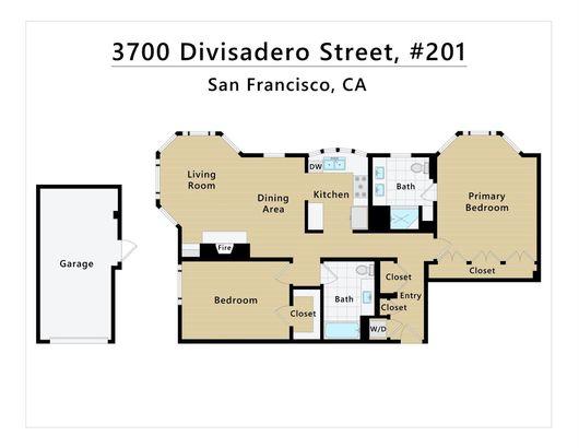 3700 Divisadero Street #201