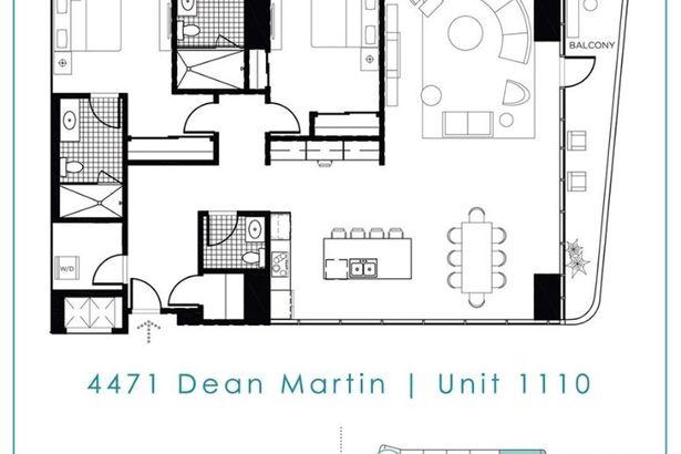 4471 DEAN MARTIN Drive #1110