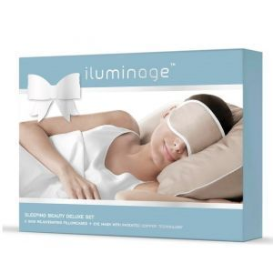 Iluminage Sleeping Beauty Kit 2 Pillowcases And Eyemask