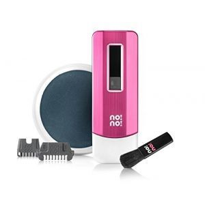 No!No! Pro 3 Hair Removal Device Pink with 2x Wide Tips (Excellent Condition)