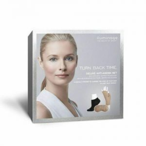 Iluminage Deluxe Anti-Ageing Set | Size: Socks S/M, Gloves M/L