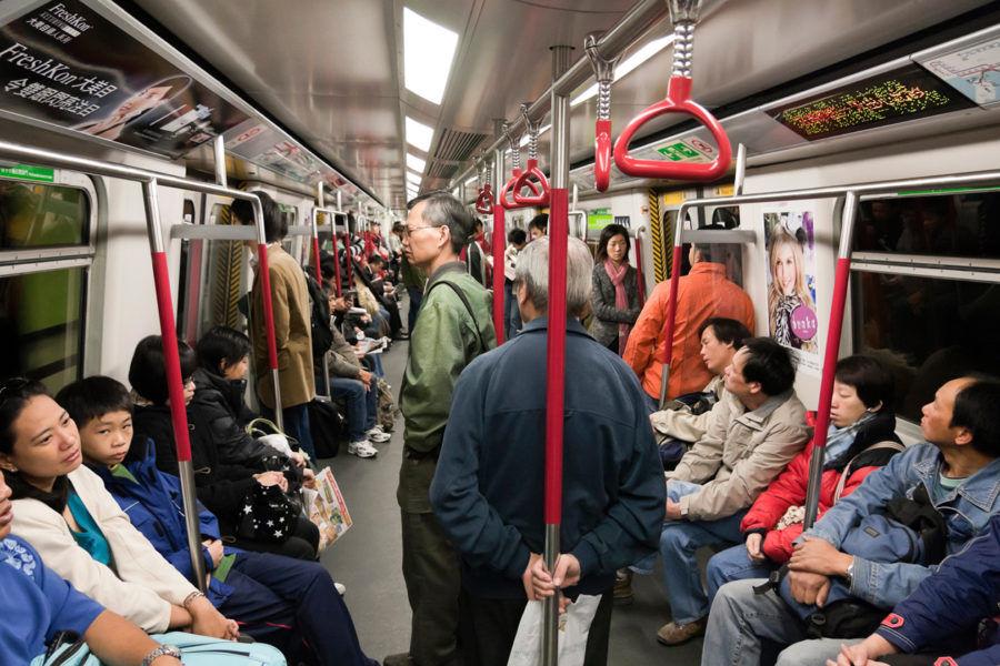 Hong Kong Metro By Yannick Dixon