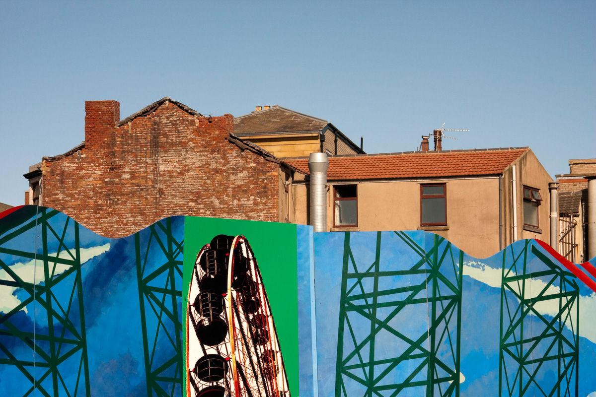 Blackpool Public Artworks Hoardings