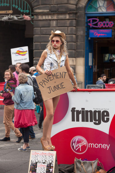 Edinburgh Festival Fringe - Photography By Yannick Dixon