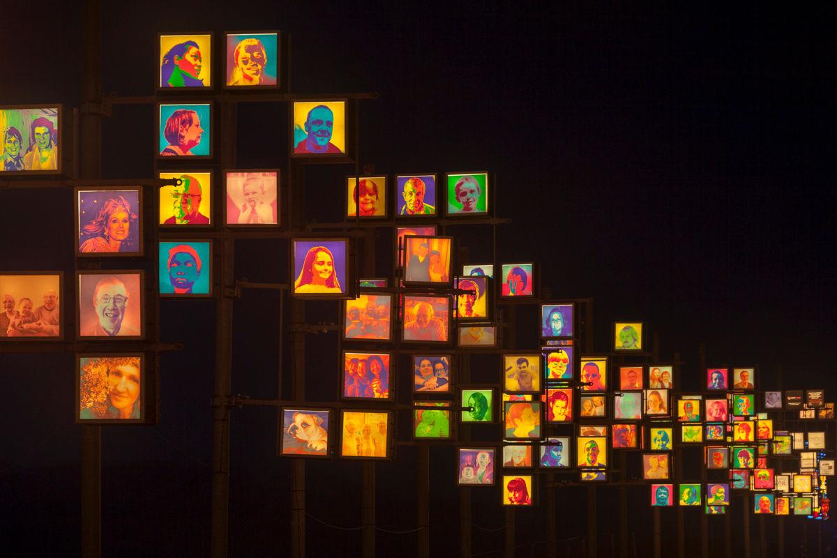 Local Heads - Blackpool Illuminations 2014 Photography