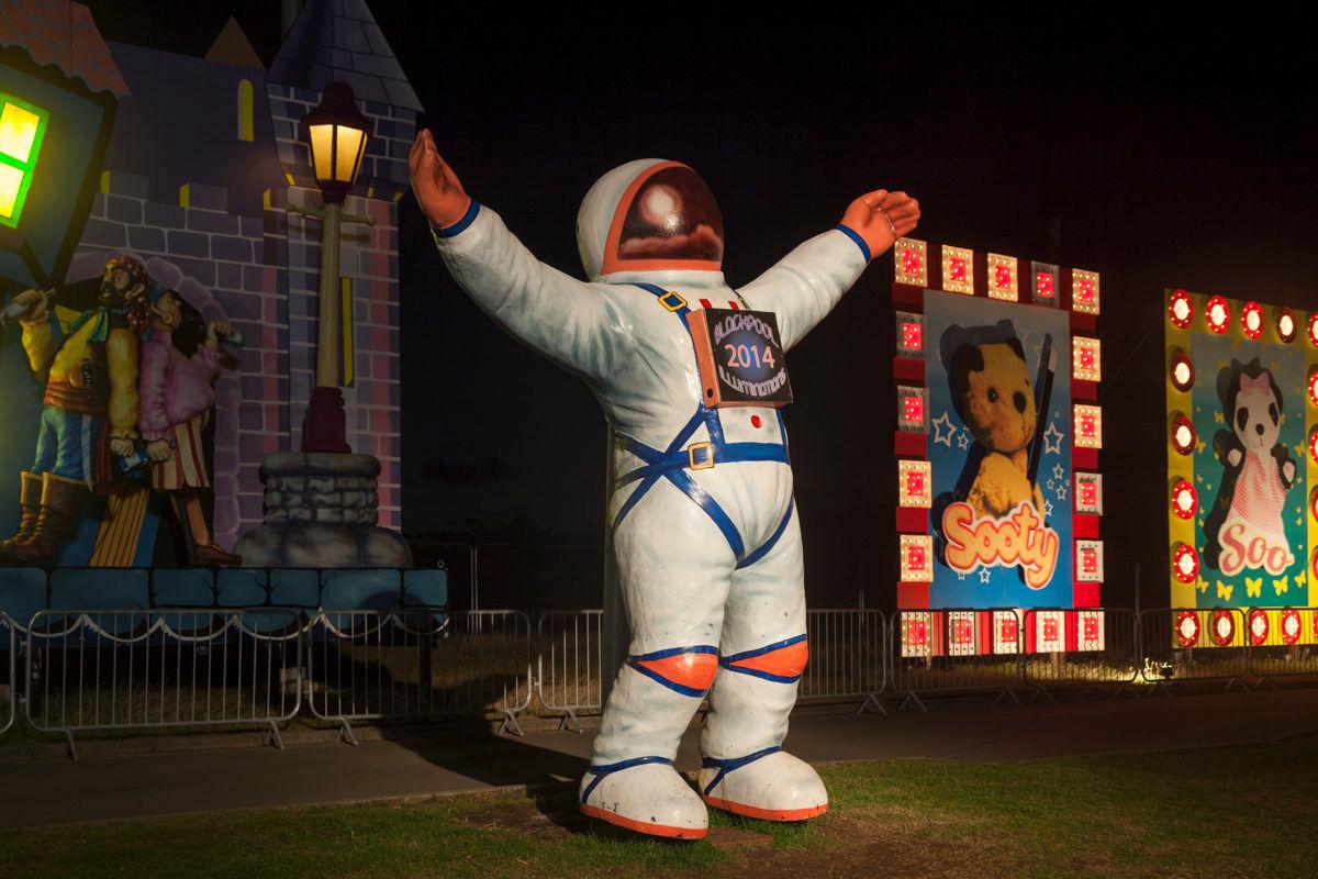 Astronaut - Blackpool Illuminations 2014 Photography