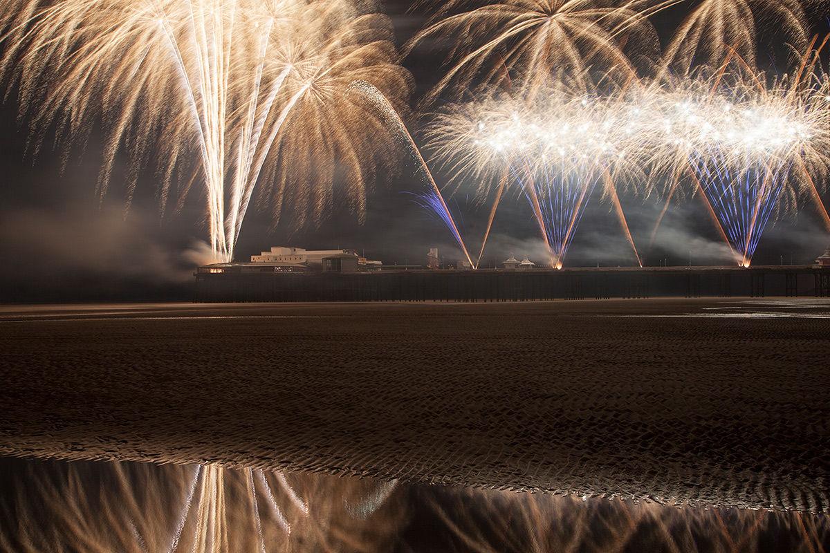 Austria's Lukasser Design Fireworks - Blackpool World Fireworks Championships