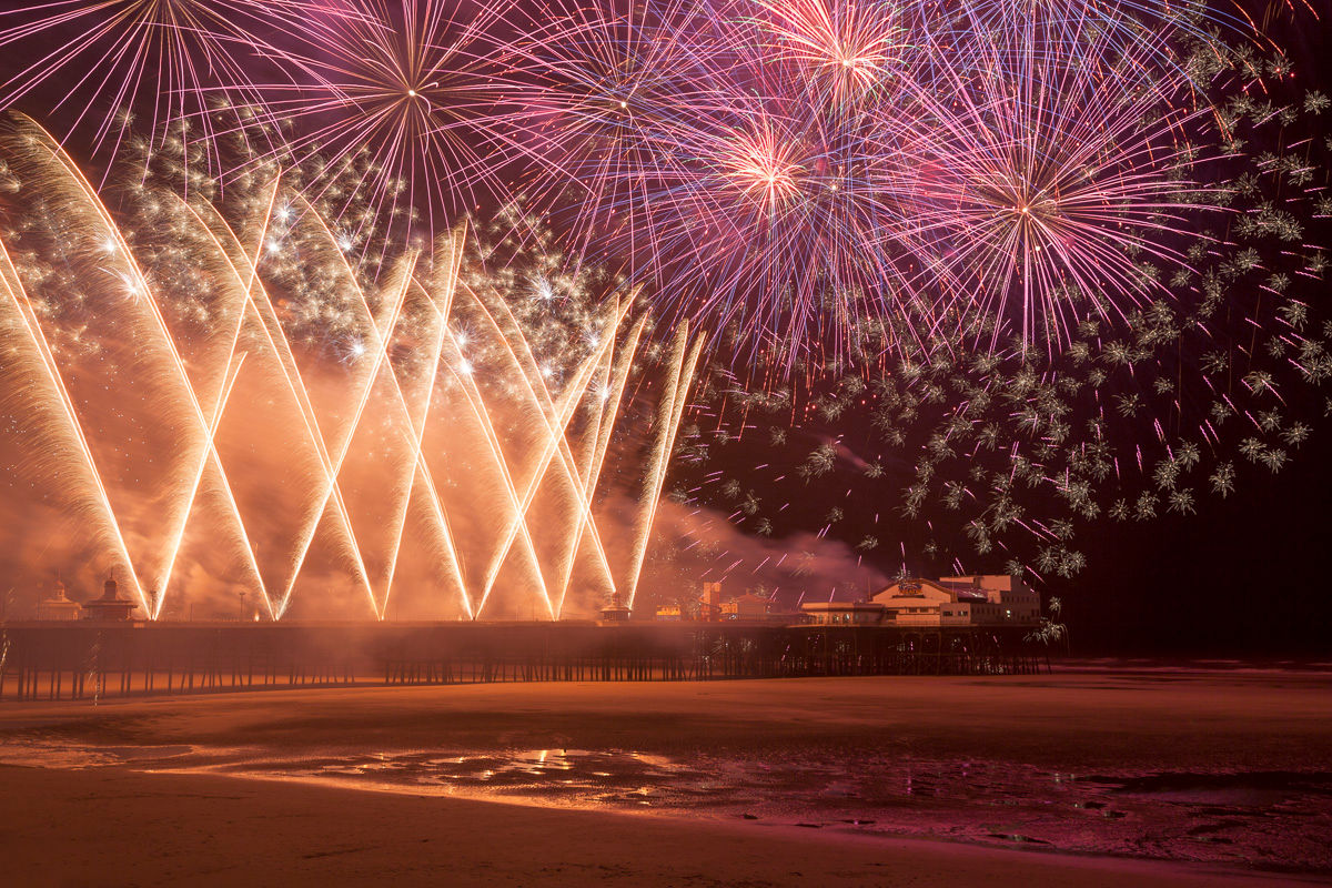 World Fireworks Championships - Photography Review of 2014 By Yannick Dixon