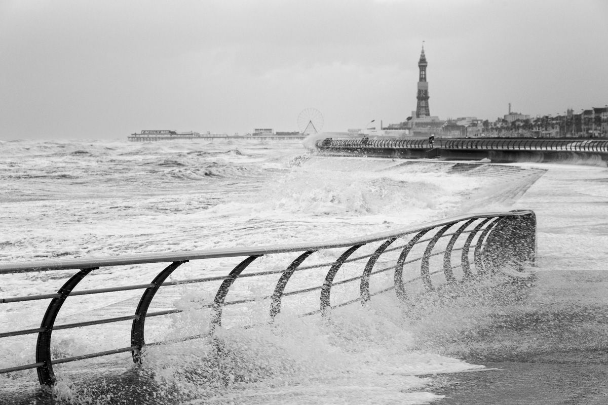 Blackpool Weather Bomb - Photography Review of 2014