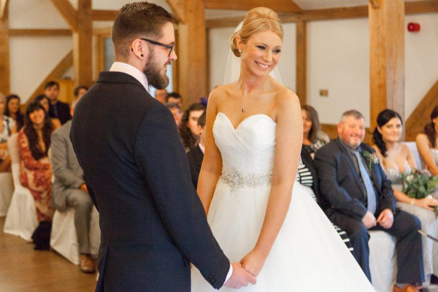 Chris & Emily's Sandhole Oak Barn Wedding Photography