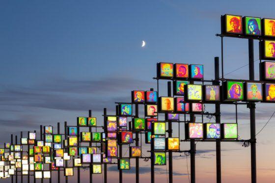 Blackpool Illuminations Photography Print