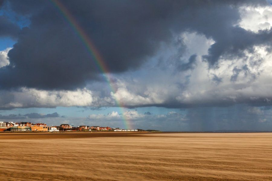 Rainbow in a Sandstorm - Wild Weather - Photography By Yannick Dixon