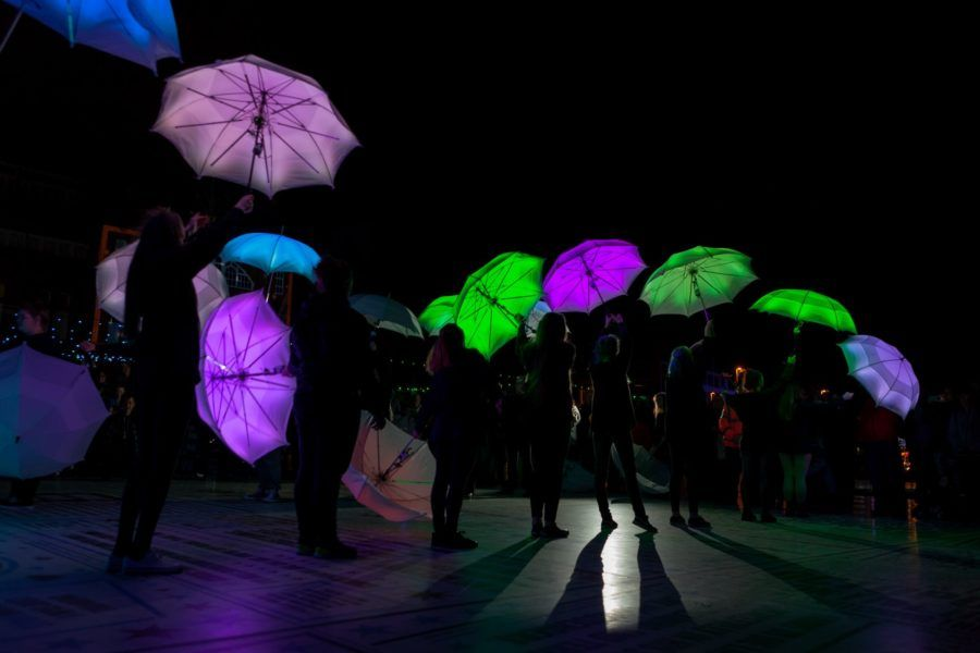 The Umbrella Project | Blackpool Illuminations