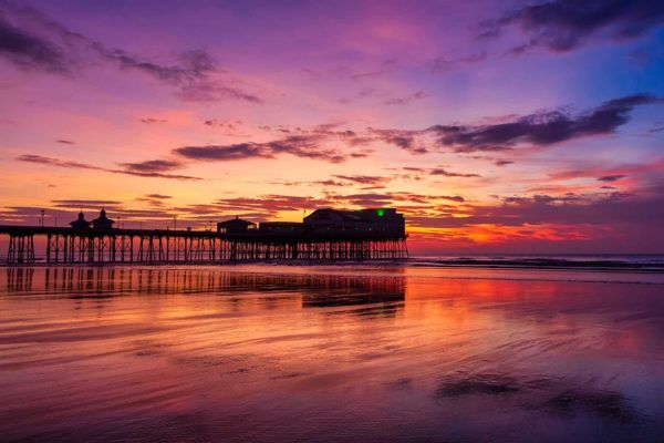 Blackpool North Pier Sunset | Blackpool Photography By Yannick Dixon