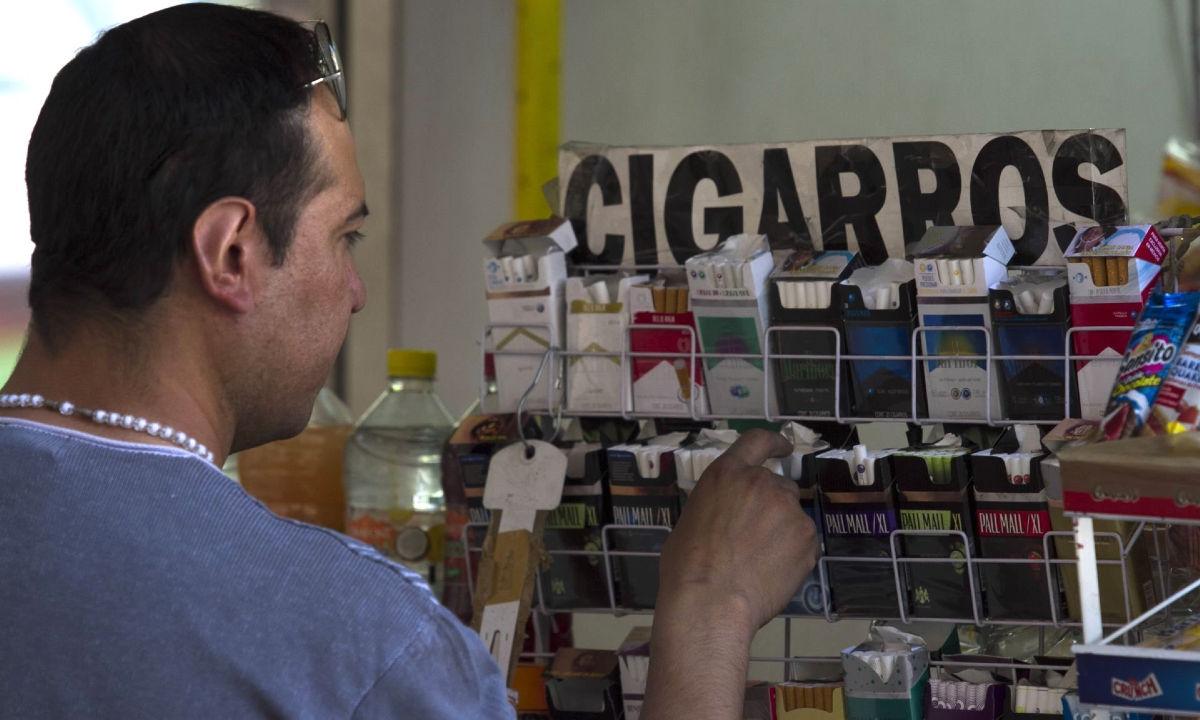 cigarros sueltos en la Ciudad de México