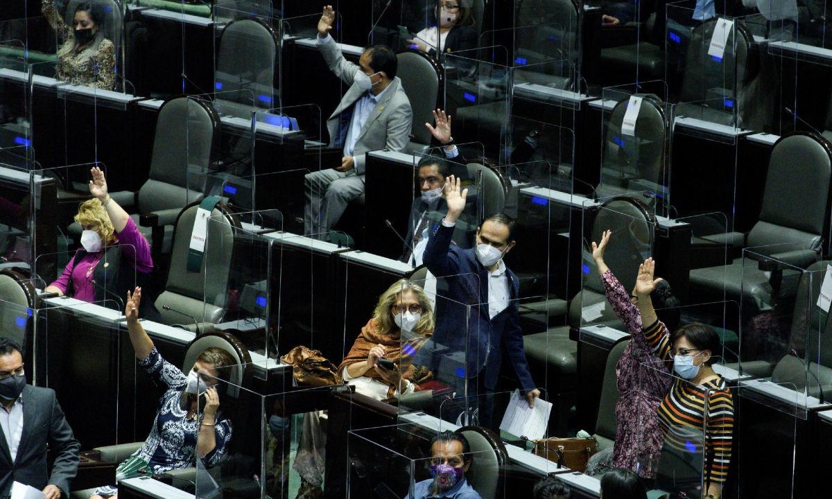 Reelección de diputados.