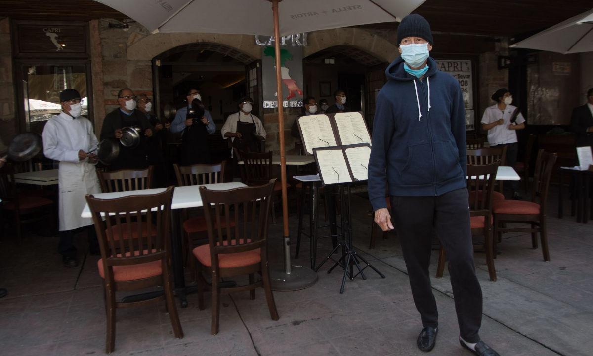 Restaurantes ante el cierre por Covid.