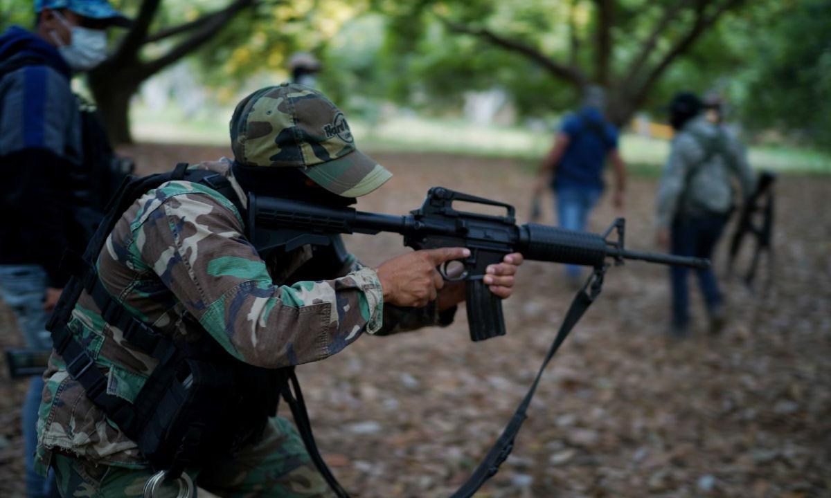Narcotráfico en Michoacán.