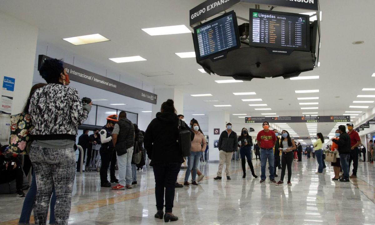 llegada de venezolanos y ucranianos a México aumentó 140%