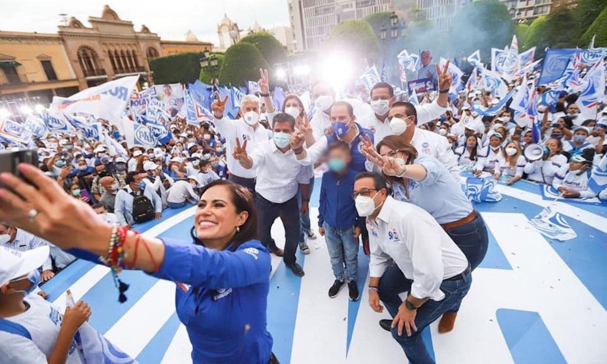 Dominio del PAN en Guanajuato.
