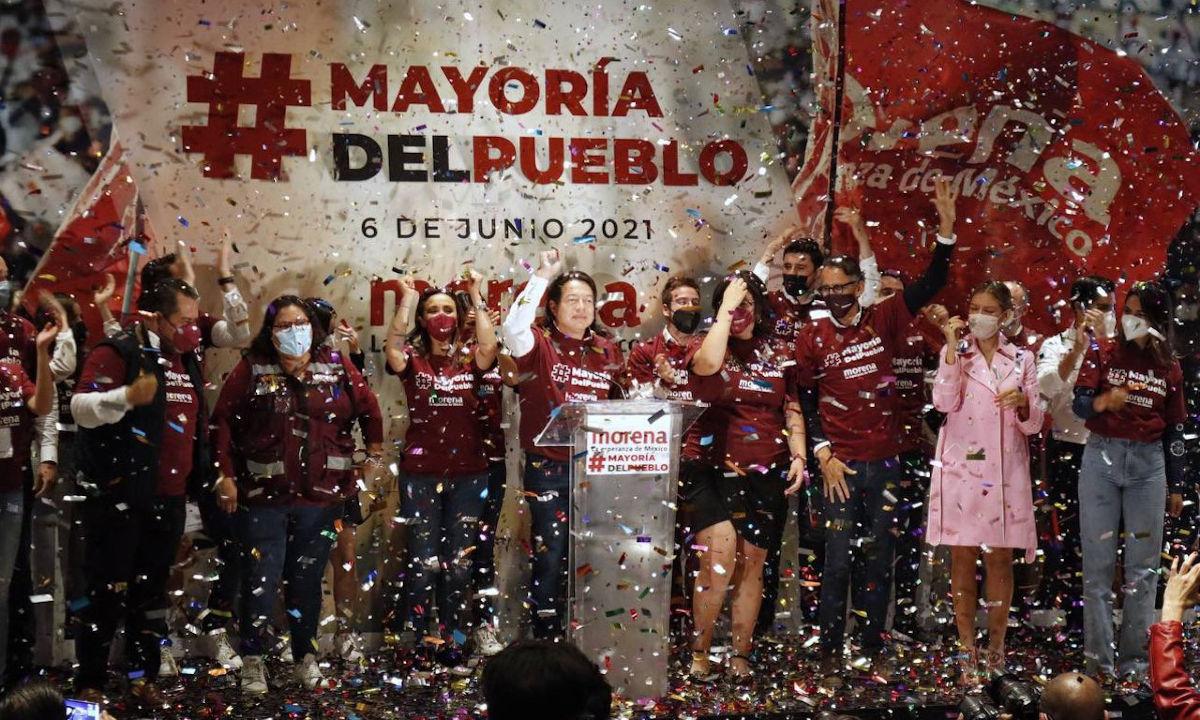 Morena va por más gubernaturas el año que viene.