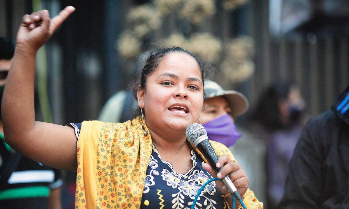 Kenia Hernández, presa política.