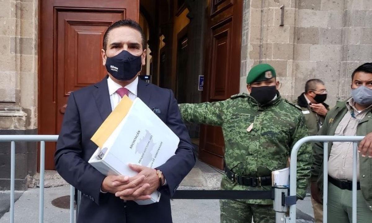 El expediente de Silvano Aureoles.