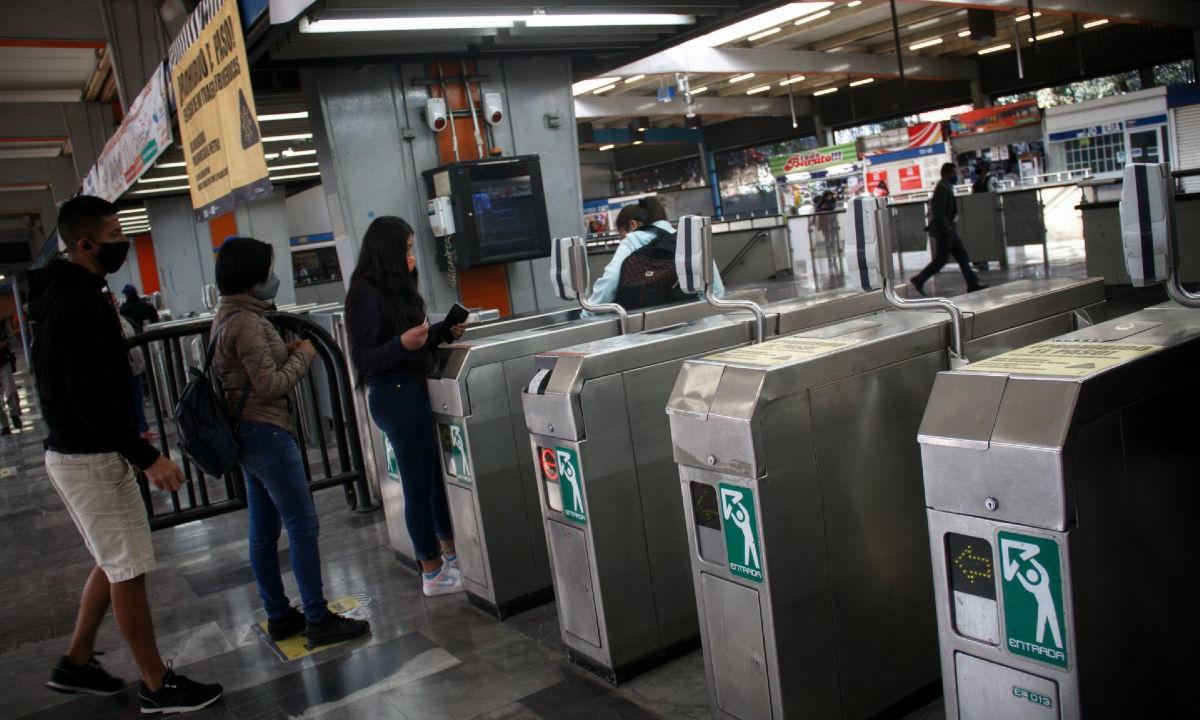 Ingresos del Metro por boletaje.