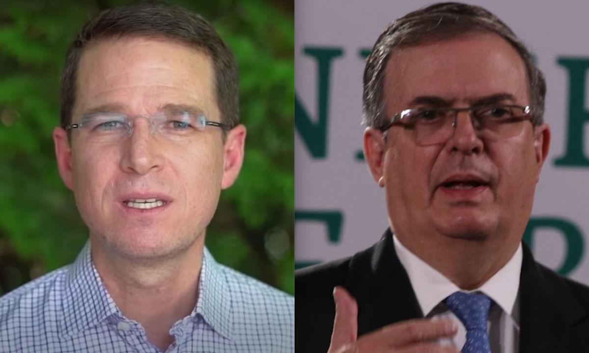 Marcelo Ebrard y Ricardo Anaya despuntan en las encuestas rumbo a 2024.