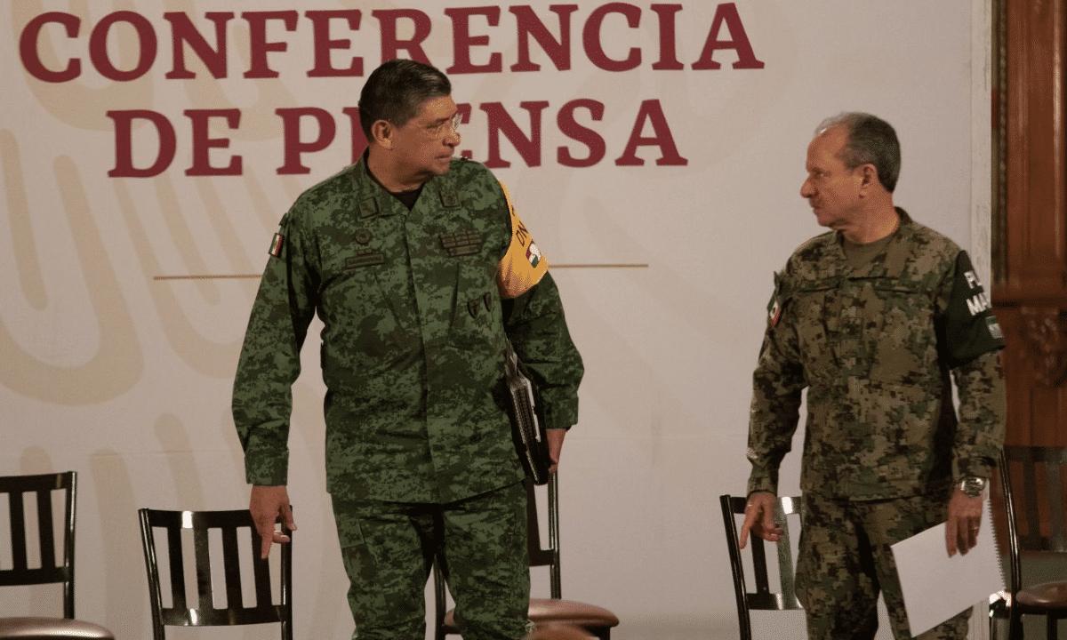 Marina, Ejército, Rafael Ojeda, Luis Cresencio Sandoval, corrupción