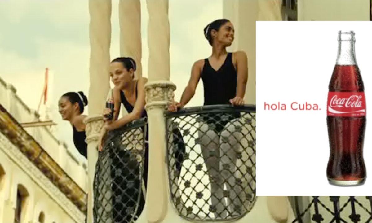 Coca-Cola en Cuba.
