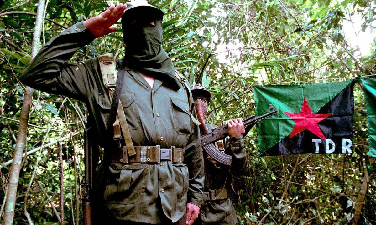 Guerrilla en México.