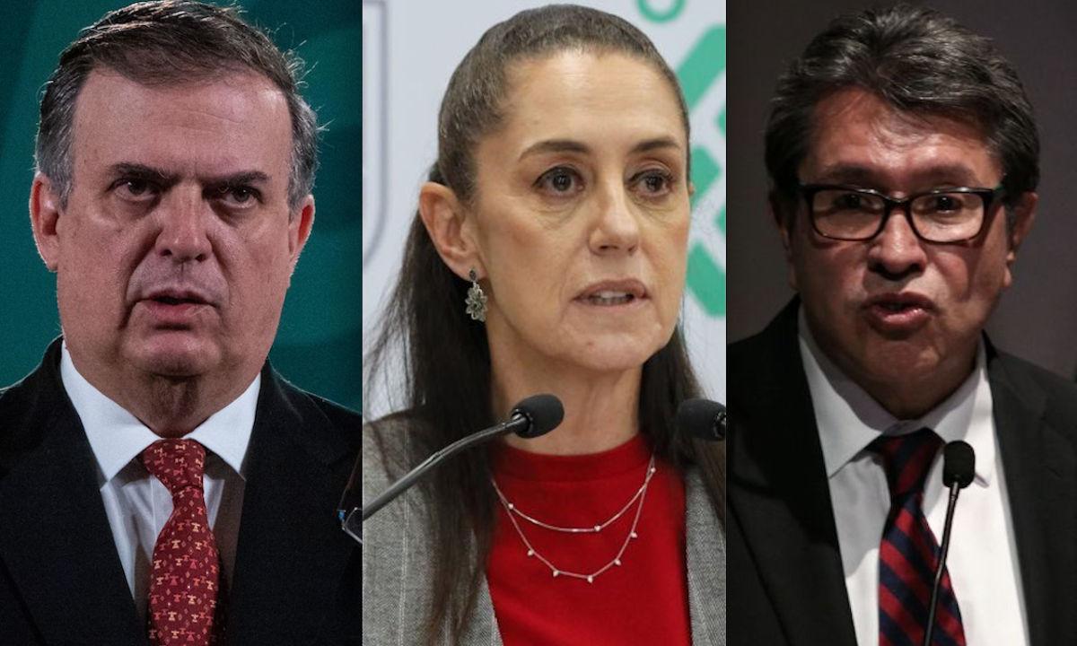 selección interna de Morena rumbo a las elecciones presidenciales de 2024.