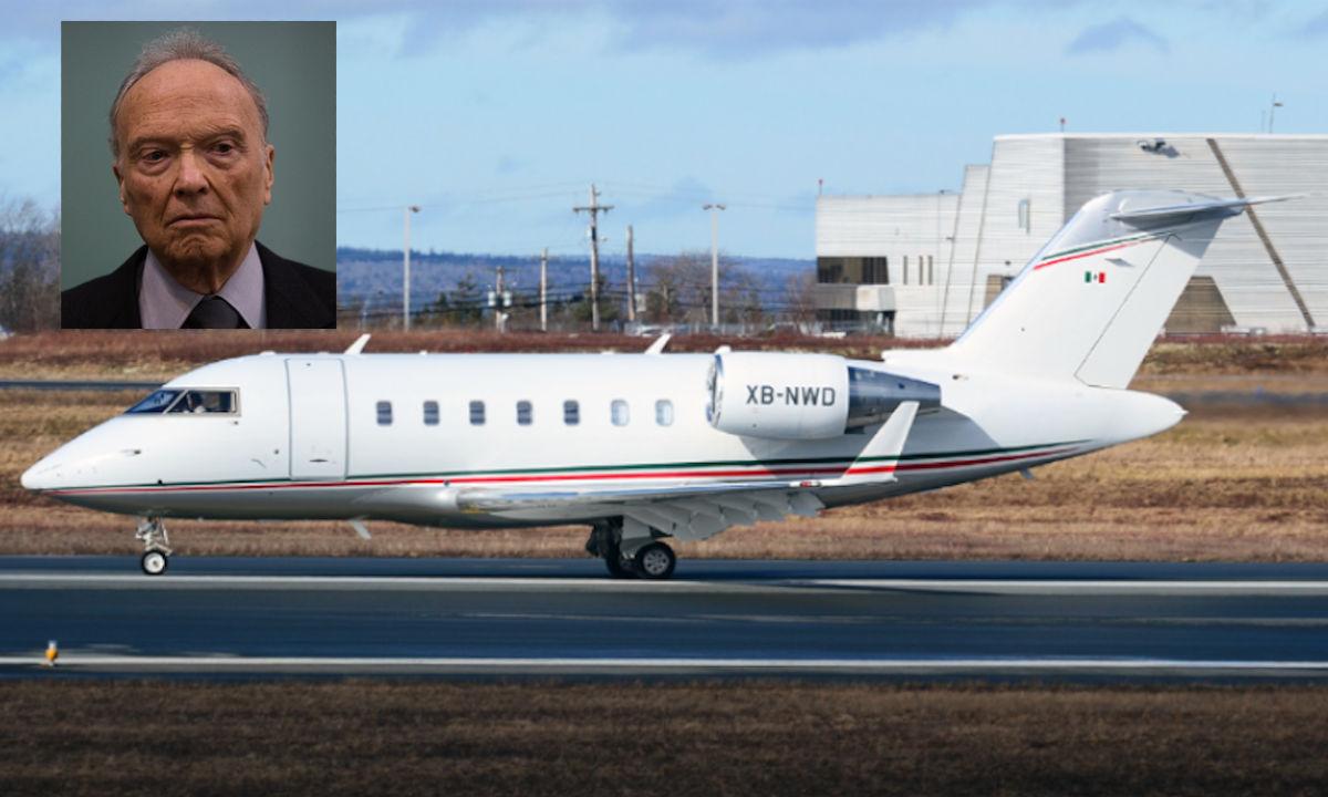 avión de lujo de la Fiscalía