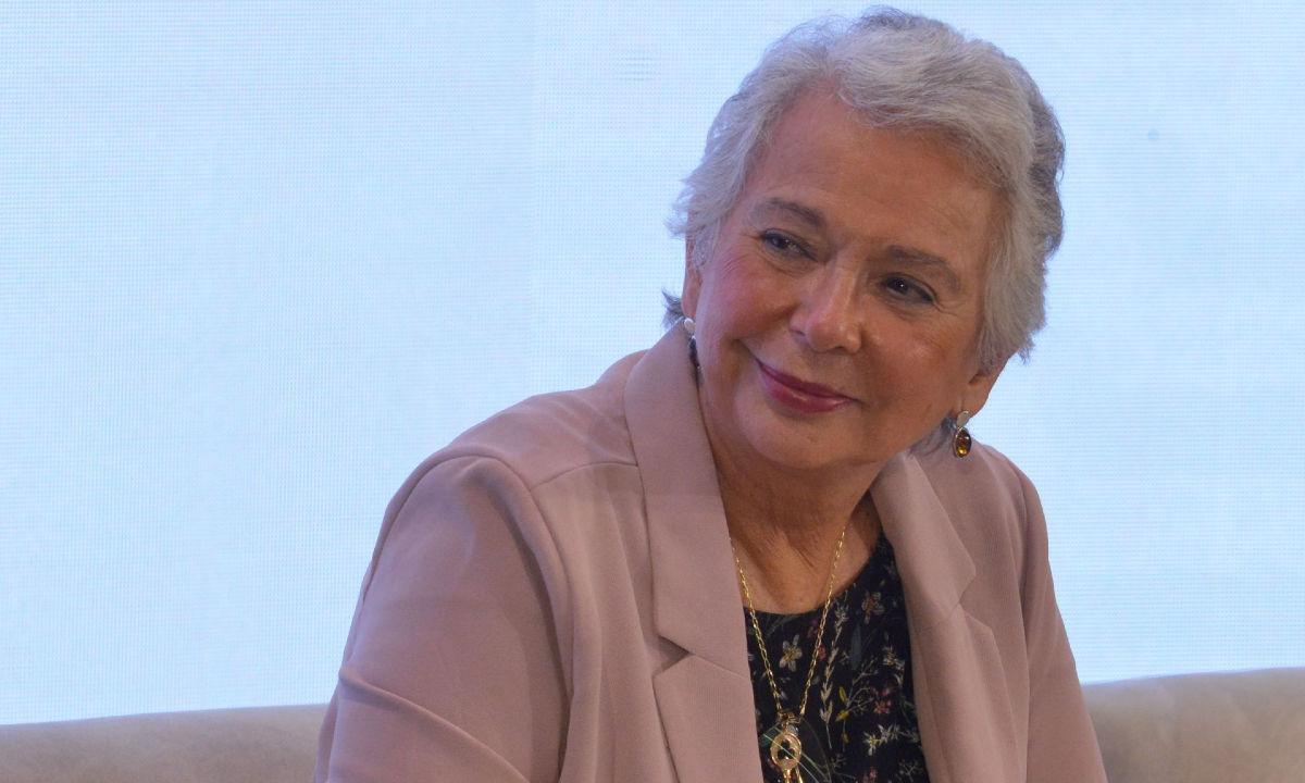 Olga Sánchez Cordero deja Segob.