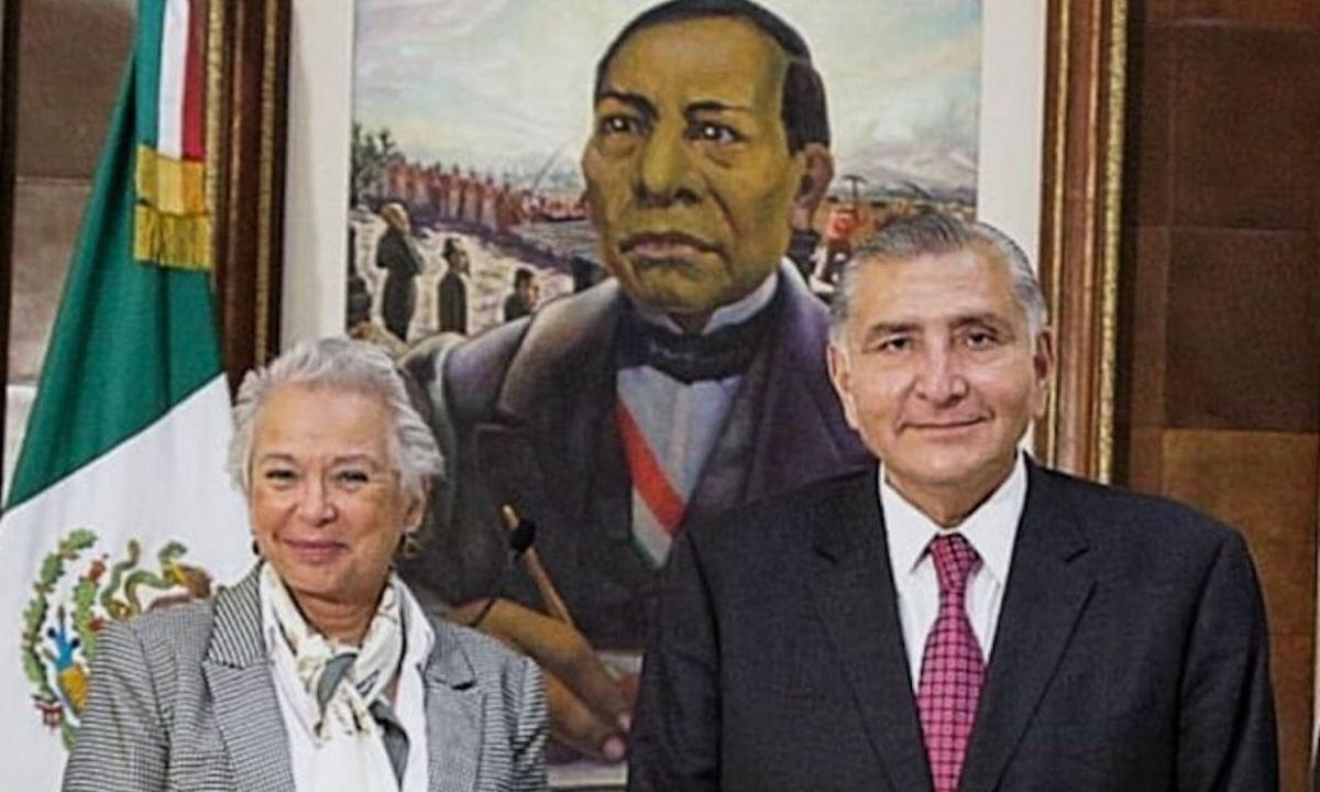 la mano dura de Adán Augusto López