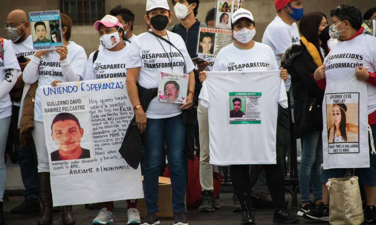 búsqueda de personas desaparecidas