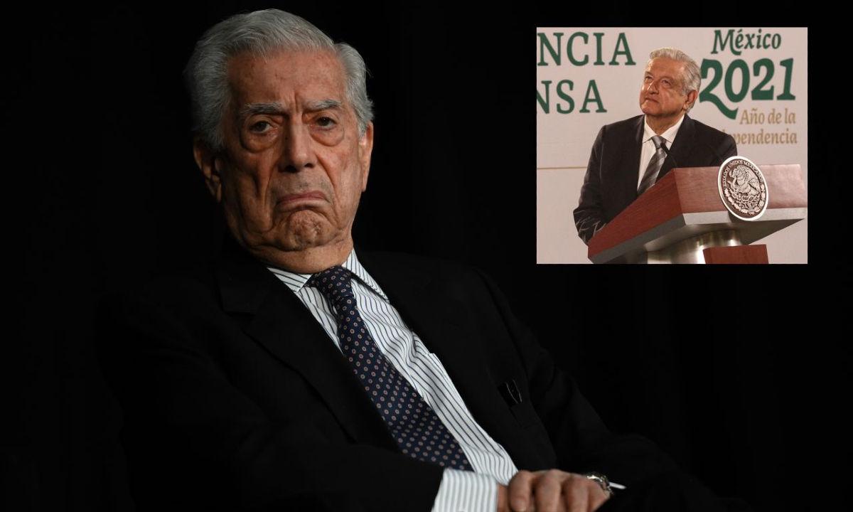 Vargas Llosa revive el fantasma de la reelección, tema recurrente de AMLO