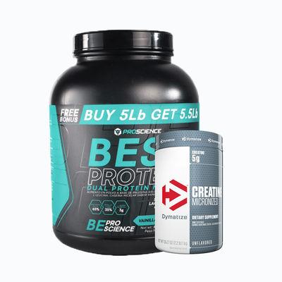 Best protein 5lb + creatine 300 grm - 1 pack
