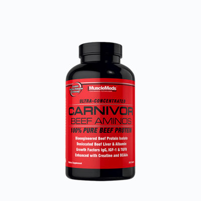 Carnivor beef aminos - 300 tabletas