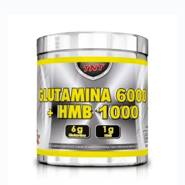 Glutamina 6000 + hmb 1000