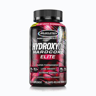 Hydroxycut hardcore elite - 100 capsulas